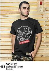 Kaos T shirt Pria VON 12