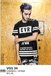 Kaos T shirt Pria VGG 34