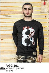 Kaos T shirt Pria VGG 101