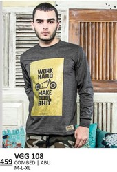 Kaos T shirt Pria VGG 108