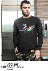 Kaos T shirt Pria VGG 105