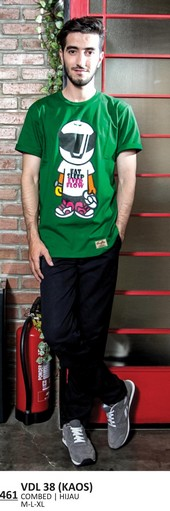 Kaos T shirt Pria VDL 38