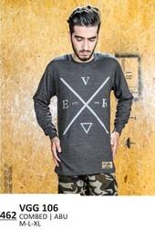 Kaos T shirt Pria VGG 106