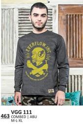Kaos T shirt Pria VGG 111