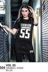 Kaos T Shirt Wanita VDL 35