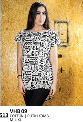 Kaos T Shirt Wanita VHB 09