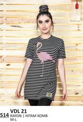 Kaos T Shirt Wanita VDL 21