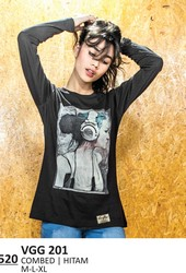 Kaos T Shirt Wanita VGG 201