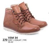Sepatu Boots Pria VSM 34