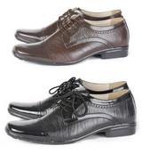 Sepatu Formal Kulit Pria Gareu Shoes G 0174