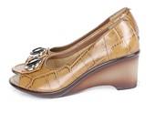 Wedges Kulit Gareu Shoes G 6096