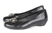 Wedges Kulit Gareu Shoes G 6094
