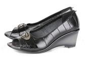 Wedges Kulit Gareu Shoes G 6095