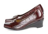 Wedges Kulit Gareu Shoes G 6092