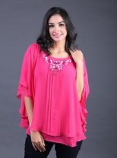 Atasan Pink FNS 008