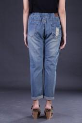 Celana Jeans Wanita Biru FDH 043