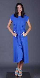 Dress Biru FYT 008