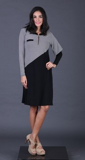 Dress Hitam FYT 012
