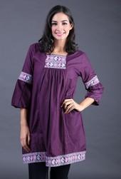 Dress Ungu BRH 3992
