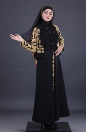 Gamis Coklat Garsel Fashion FKR 062