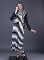 Gamis Hitam Garsel Fashion FGA 009