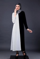 Gamis Putih Garsel Fashion FKR 057