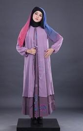 Gamis Ungu Garsel Fashion FII 013