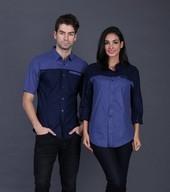 Pakaian Pasangan Biru FDM 008