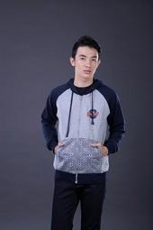 Sweater Pria Abu RDW 005