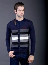 Sweater Pria Biru FAY 026
