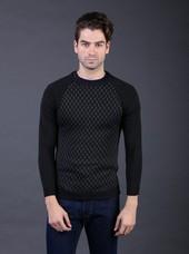 Sweater Pria Hitam FAY 022