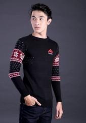 Sweater Pria Hitam FAY 025