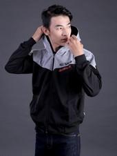 Sweater Pria Hitam FMS 006