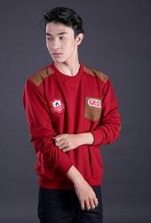 Sweater Pria Merah FFA 024