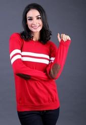 Sweater Wanita Merah FTN 008