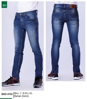 Celana Jeans Pria Garsel Fashion BND 4702