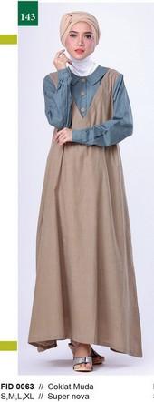 Gamis Garsel Fashion FID 0063