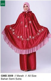Mukenah Garsel Fashion GMB 3009