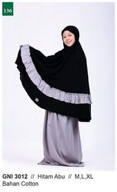 Mukenah Garsel Fashion GNI 3012