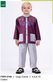 Pakaian Anak Laki FWR 0749