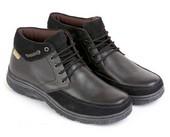 sepatu kulit pria E 154