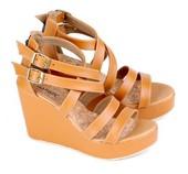 sepatu wanita wedges E 298