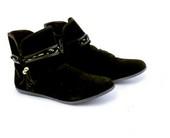 Sepatu Boots Wanita Garsel Shoes GHE 2756