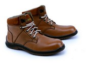 Sepatu Safety Pria Garsel Shoes GRN 2502