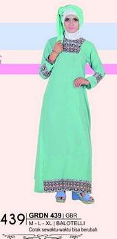 Long Dress Giardino GRDN 439