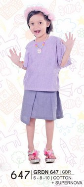 Pakaian Anak Perempuan Giardino GRDN 647