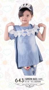 Pakaian Anak Perempuan GRDN 643