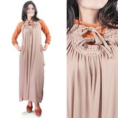 Long Dress Rayon Gnine GN 0303