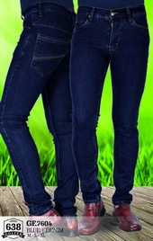 Celana Jeans Denim Pria GF 7604