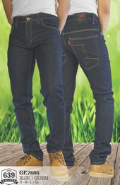 Celana Jeans Denim Pria GF 7606